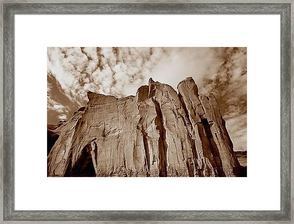 Rock Mound Framed Print