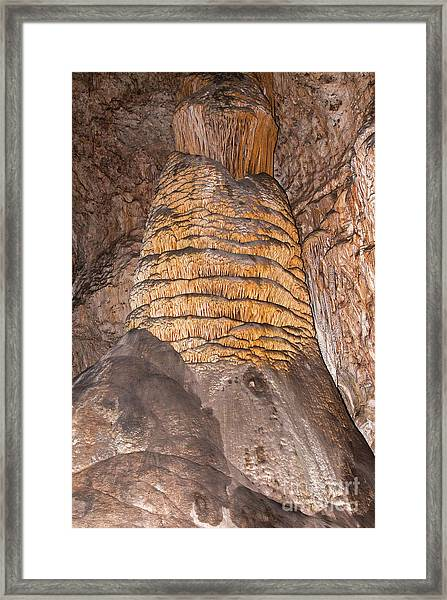 Rock Of Ages Carlsbad Caverns National Park Framed Print