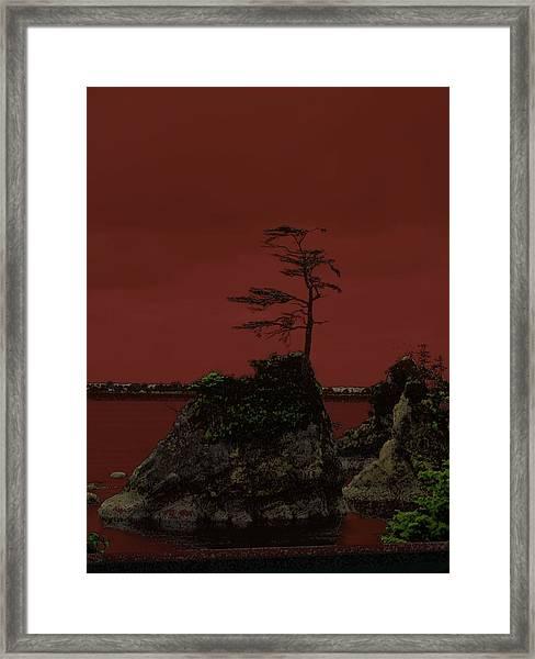 Rock Of Garibaldi Framed Print