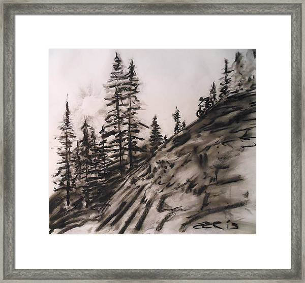 Rock Rider Framed Print