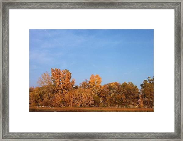Rock River Bay II Framed Print