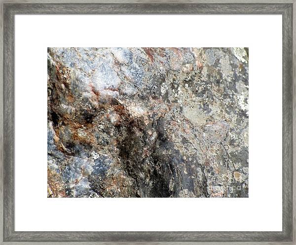 Rock Three Framed Print