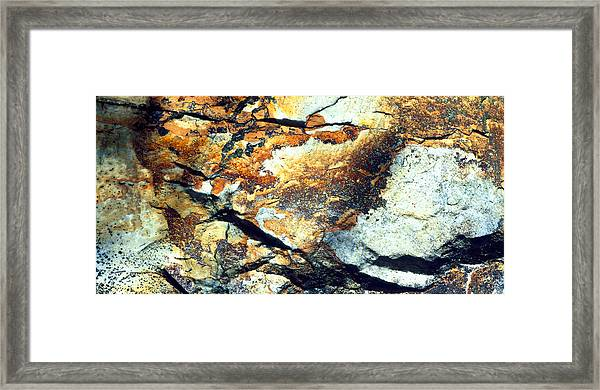 Rock Wasatch National Forest Ut Usa Framed Print