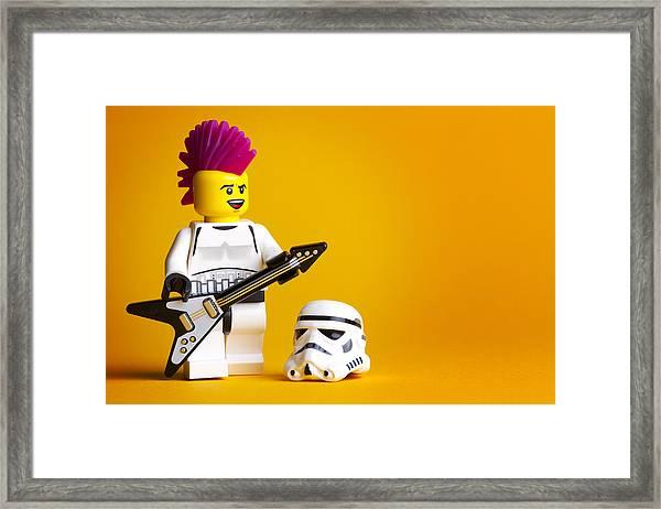 Rockin' Out Framed Print
