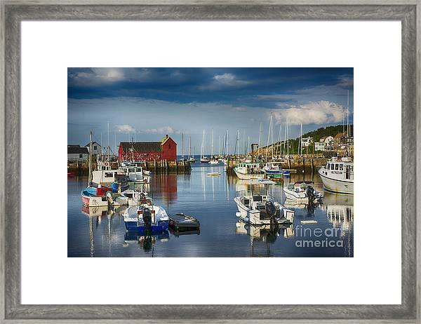 Rockport Harbor Framed Print