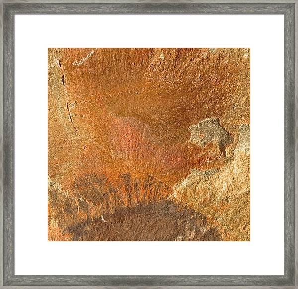 Rockscape 6 Framed Print