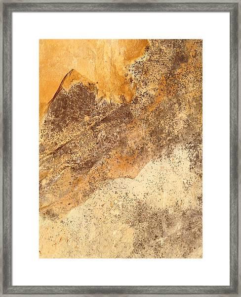 Rockscape 7 Framed Print