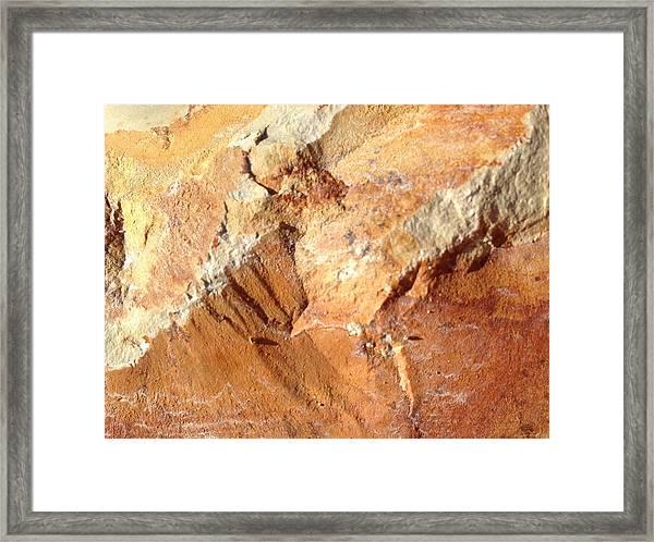 Rockscape 8 Framed Print