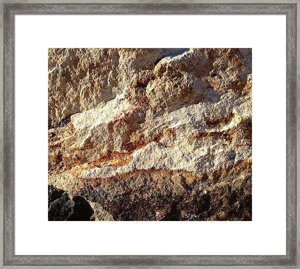 Rockscape 9 Framed Print