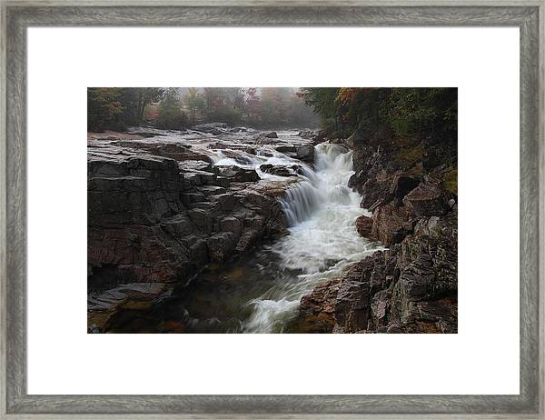 Rocky Gorge Framed Print