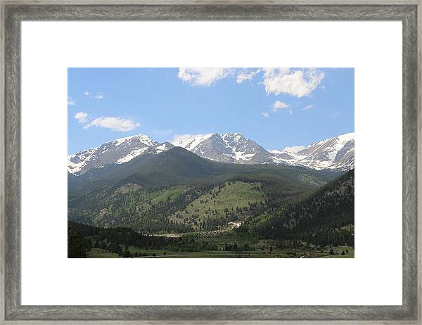 Rocky Mountain National Park - 3  Framed Print