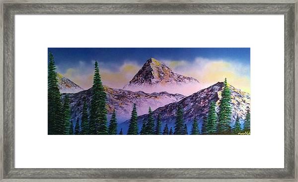 Rocky Mountains Framed Print