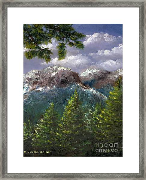Rocky Mountains National Park Colorado Framed Print