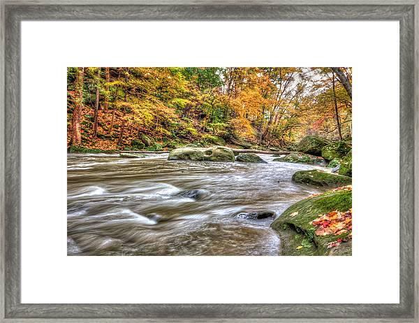 Rocky River Framed Print