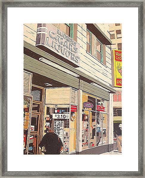 Rodney's Framed Print by Paul Guyer