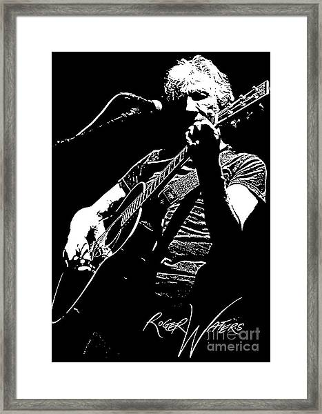 Roger Waters No.01 Framed Print
