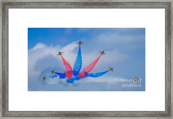Rokaf Aerobatic Team Framed Print