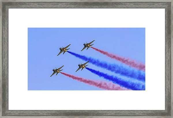 Rokaf Black Eagles Framed Print