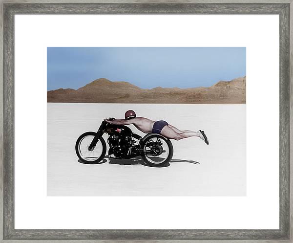 Roland Rollie Free Framed Print