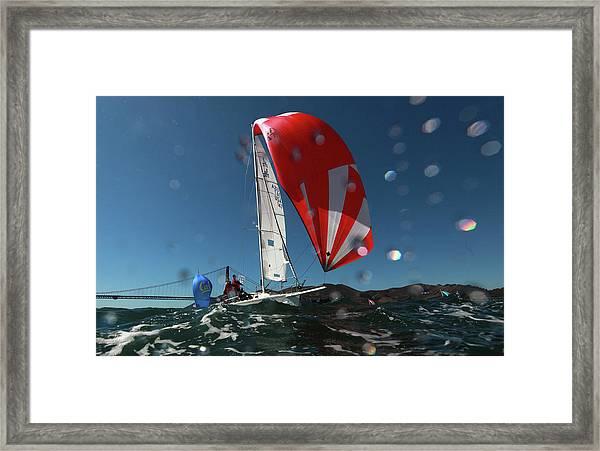 Rolex Big Boat Series Framed Print
