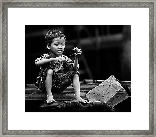 Roll And Play It Again Framed Print by Sebastian Kisworo