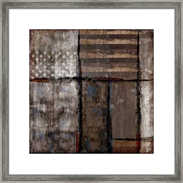 Roll Away The Stone Framed Print