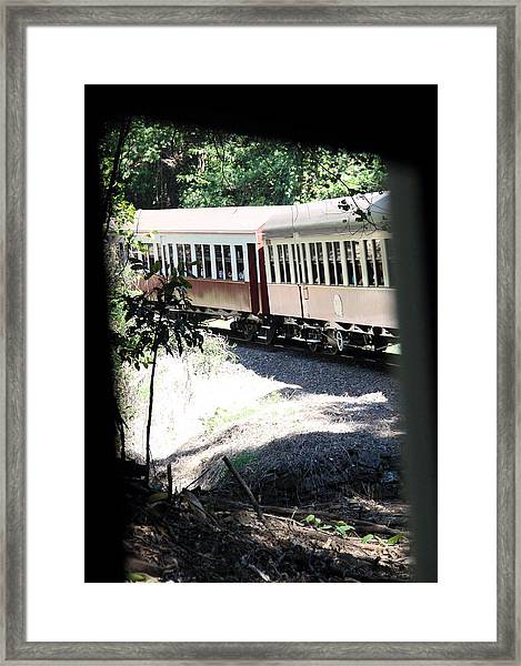 Framed Print featuring the photograph rolling Stock by Debbie Cundy