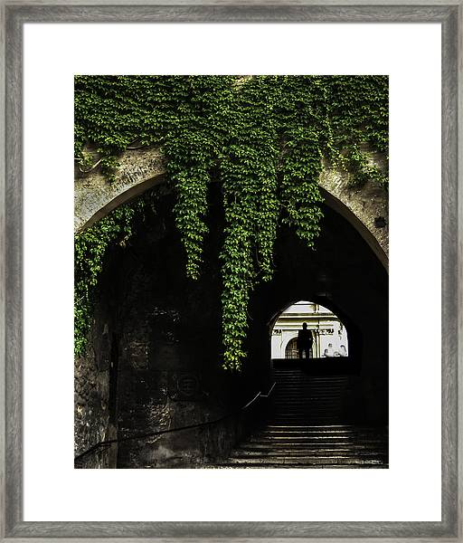 Roman Arch Framed Print