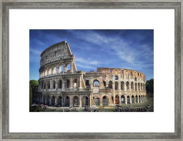 Roman Icon Framed Print