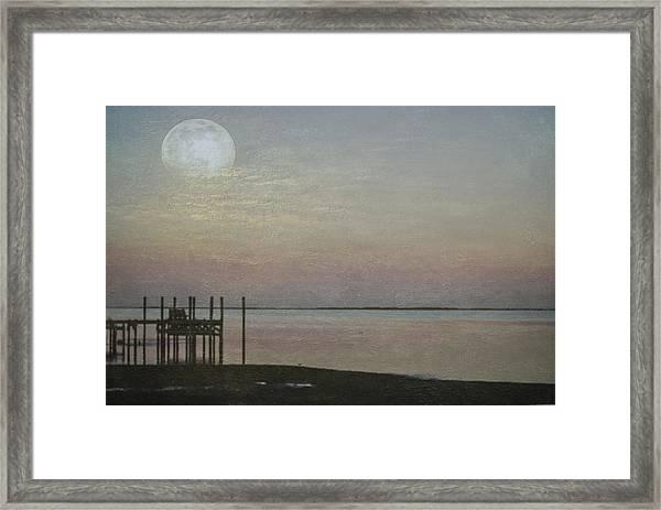 Romancing The Moon Framed Print