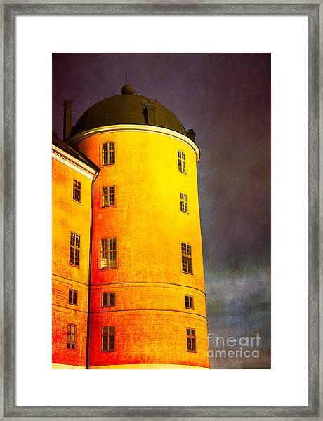 Romantic Fairytale Castle Framed Print