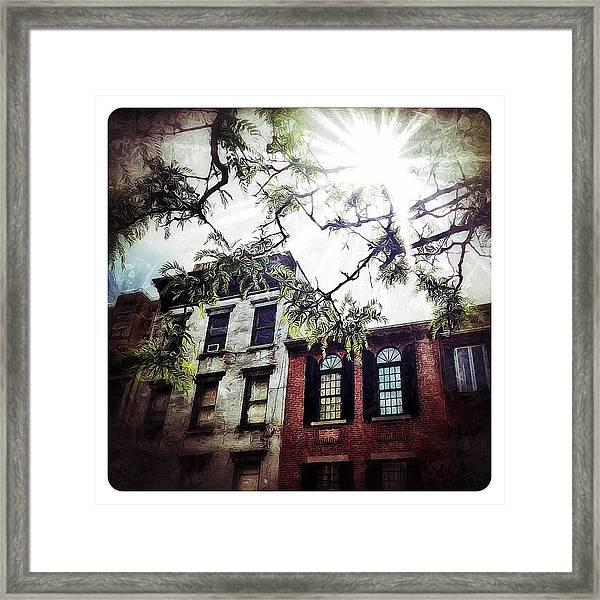 Romantic West Village Framed Print