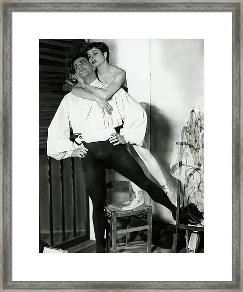 Ronald Petit And Renee Jeanmarie Framed Print