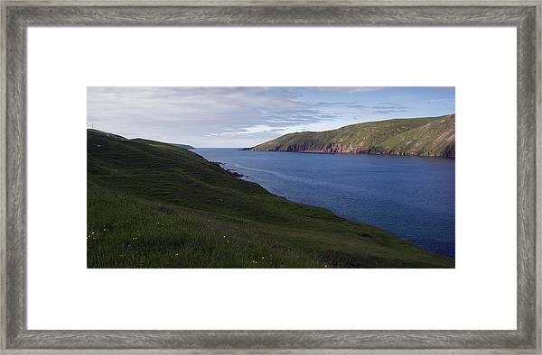 Ronas Voe Framed Print by Steve Watson