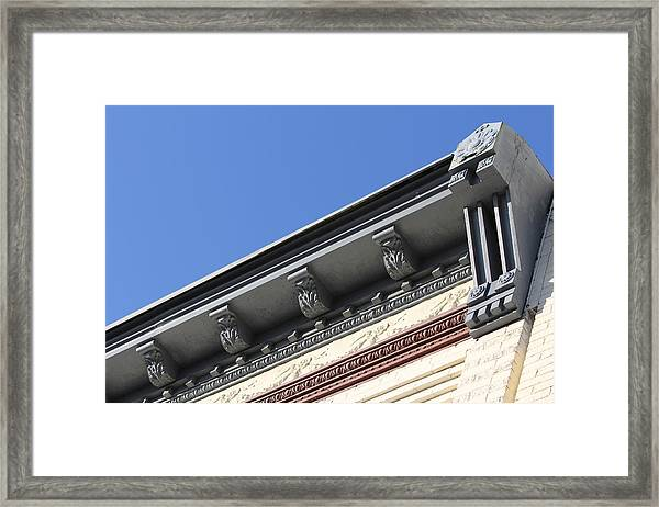 Roof Detail Framed Print