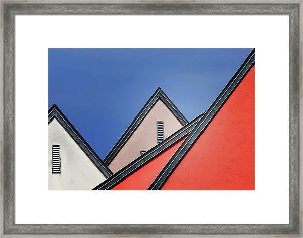 Roof Lines Framed Print