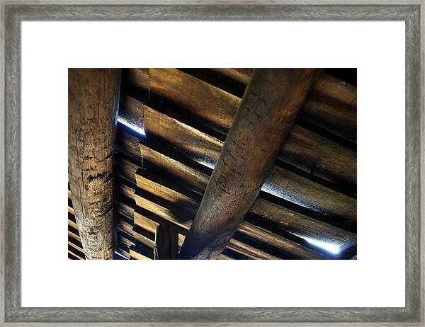 Roofage Framed Print