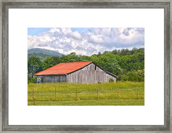 Room With A View Framed Print by Linda A Waterhouse