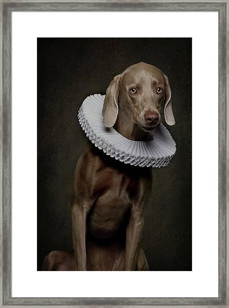 Roos Framed Print by Carine Belzon
