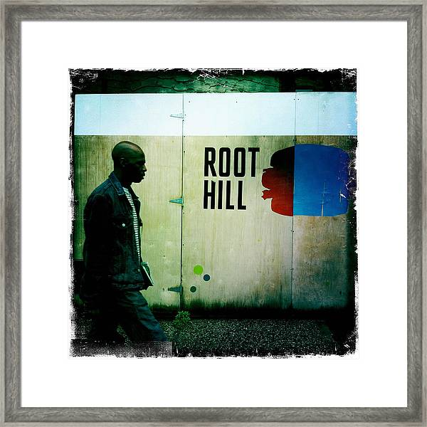 Root Hill Framed Print