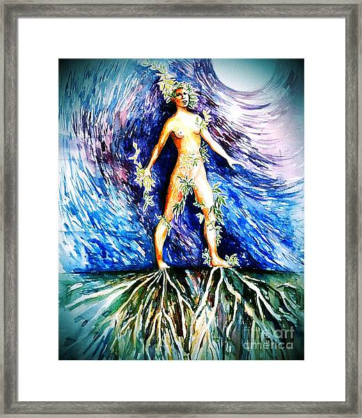 Rooted #2 Framed Print