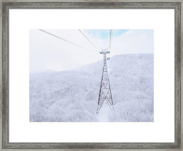 Ropeway Framed Print