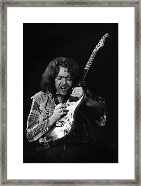 Rory Gallagher 1 Framed Print