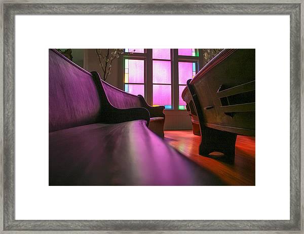 Rose Colored Glass 2 Framed Print