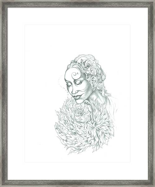 Rose Of Grace And Kindness Framed Print