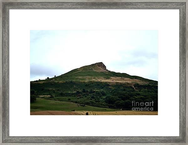 Roseberry Topping Hill Framed Print