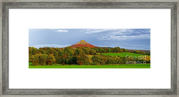 Roseberry Topping Yorkshire Moors Framed Print