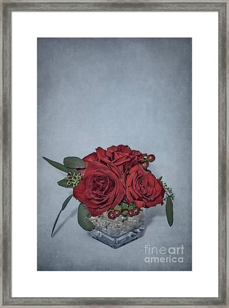 Roses Are Red... Framed Print
