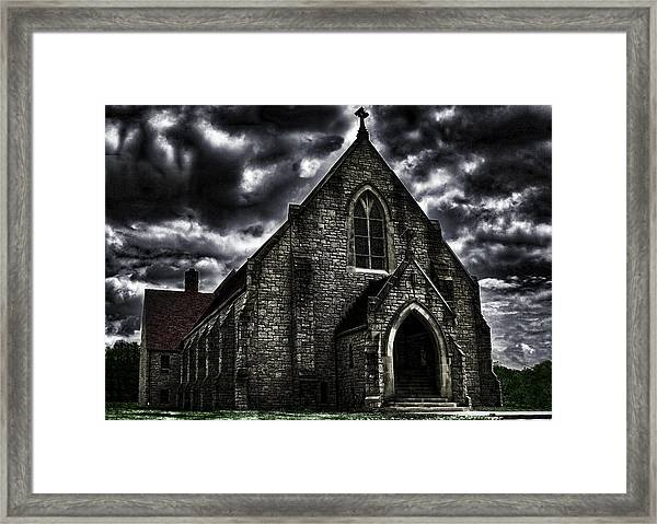 Roseville Ohio Church Framed Print