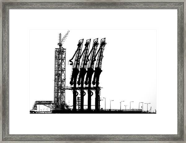 Rotterdam-harbour Framed Print